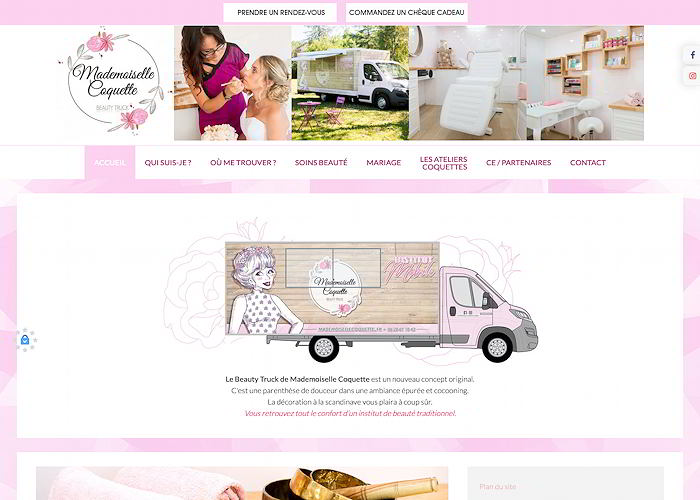 Beauty truck en Dordogne